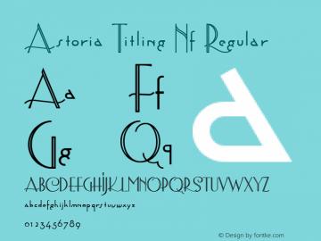 Astoria Titling Nf