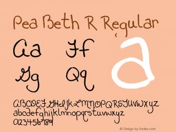 Pea Beth R