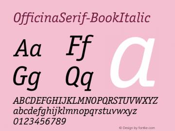OfficinaSerif-BookItalic