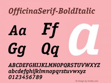 OfficinaSerif-BoldItalic
