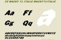 FZ WACKY 71 ITALIC