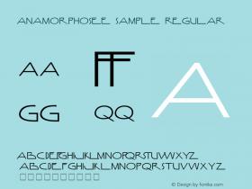 Anamorphosée sample