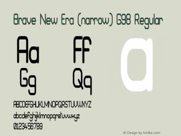 Brave New Era (narrow) G98