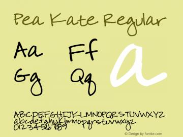 Pea Kate