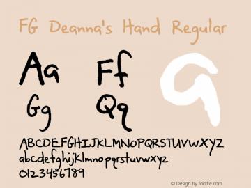 FG Deanna's Hand