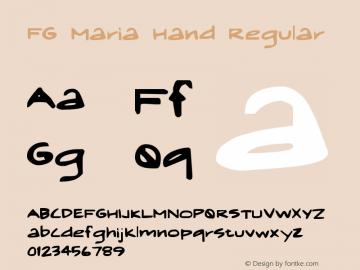 FG Maria Hand
