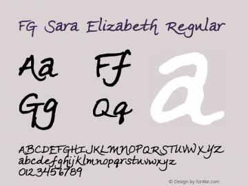 FG Sara Elizabeth