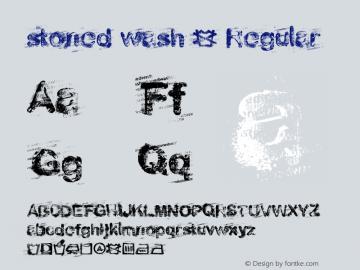 stoned wash 6