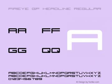 Fireye GF Headline