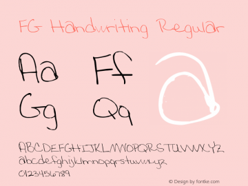 FG Handwriting