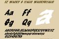 FZ WACKY 8 ITALIC