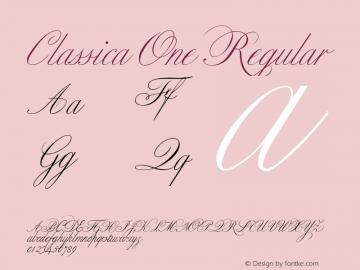 Classica One