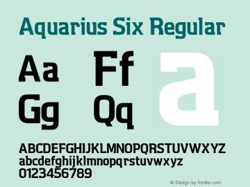 Aquarius Six