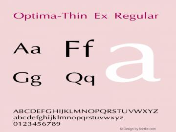 Optima-Thin Ex