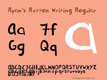 Ryan's Rotten Writing