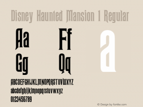 Disney Haunted Mansion 1