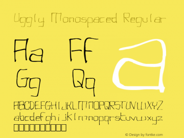 Uggly Monospaced