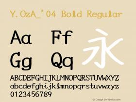 Y.OzA_'04 Bold