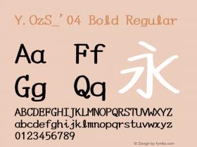 Y.OzS_'04 Bold