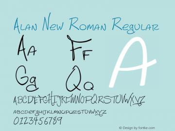 Alan New Roman