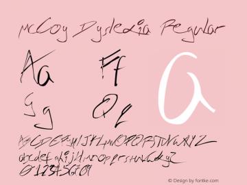 McCoy Dyslexia