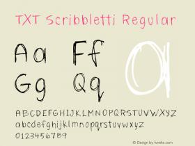 TXT Scribbletti