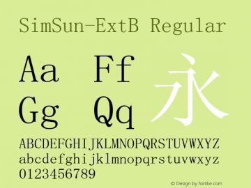 SimSun-ExtB