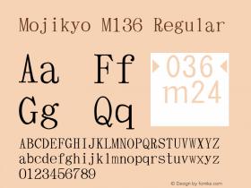 Mojikyo M136