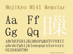 Mojikyo M141
