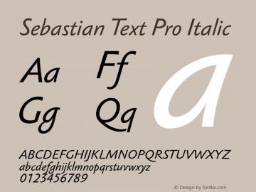 Sebastian Text Pro