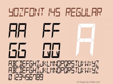 YOzFont14s