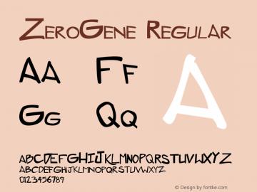 ZeroGene