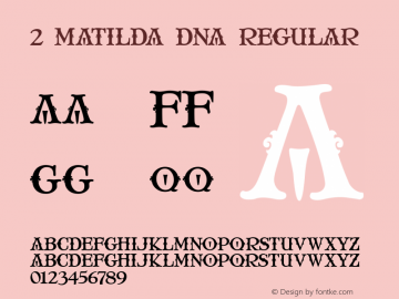 2 Matilda DNA
