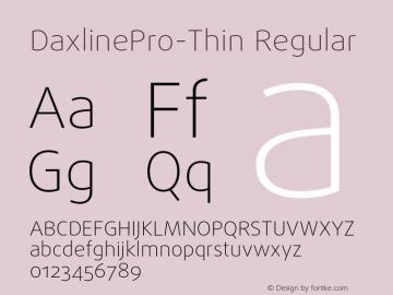DaxlinePro-Thin