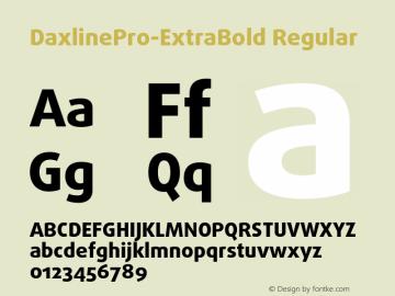 DaxlinePro-ExtraBold