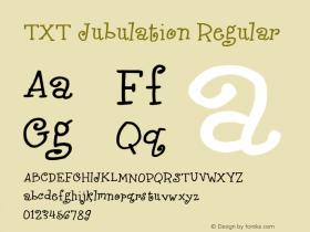 TXT Jubulation