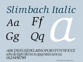 Slimbach