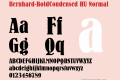 Bernhard-BoldCondensed HU