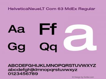 HelveticaNeueLT Com 63 MdEx