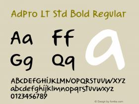 AdPro LT Std Bold