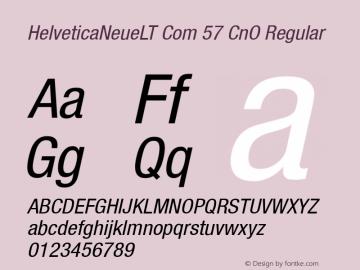 HelveticaNeueLT Com 57 CnO