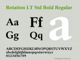 Rotation LT Std Bold
