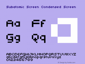 Subatomic Screen Condensed