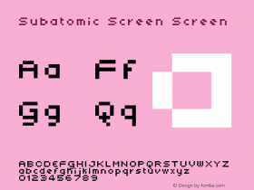 Subatomic Screen