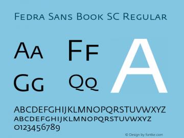 Fedra Sans Book SC