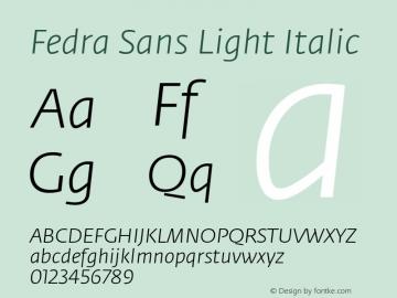 Fedra Sans Light