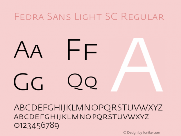 Fedra Sans Light SC
