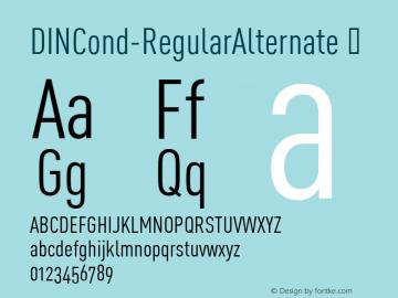 DINCond-RegularAlternate