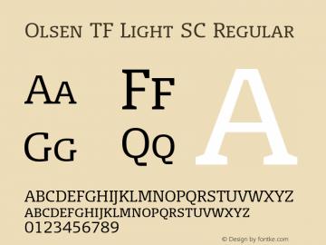 Olsen TF Light SC