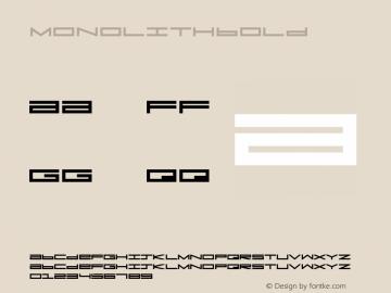 MonolithBold